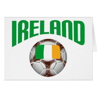 Fútbol del fútbol de Irlanda Tarjetas