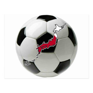 Fútbol del fútbol de Japón Tarjeta Postal