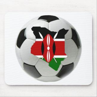 Fútbol del fútbol de Kenia Tapete De Ratones