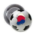 Fútbol del fútbol de la Corea del Sur Pins
