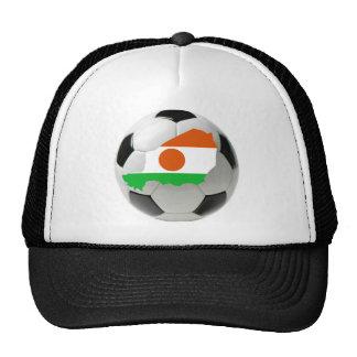 Fútbol del fútbol de Niger Gorras