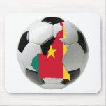 Fútbol del fútbol del Camerún Alfombrillas De Ratón