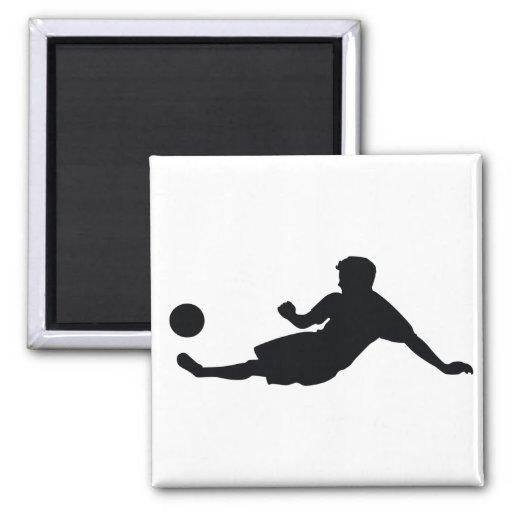 Fútbol del fútbol iman para frigorífico