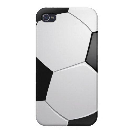 Fútbol del fútbol iPhone 4/4S fundas