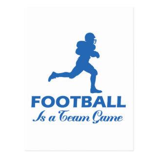 fútbol del fútbol tarjeta postal