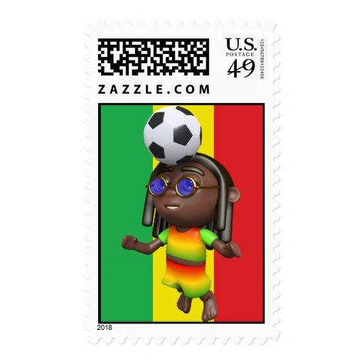fútbol del jefe de 3d Rasta Envio