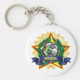 Fútbol del mundial del Brasil Llaveros Personalizados