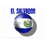 Fútbol del mundial El Salvador 2014 Cuscatlecos Tarjetas Postales