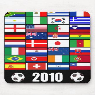 Fútbol del mundial Mousepad 2010