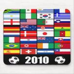 Fútbol del mundial Mousepad 2010 Tapete De Raton