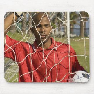 Fútbol del mundial que se sostendrá en Suráfrica 2 Alfombrillas De Ratones