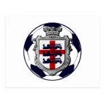 Fútbol del mundo - fútbol 2014 del fútbol de Ingla Postales