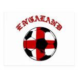 Fútbol del mundo - fútbol 2014 del fútbol de Ingla Postal