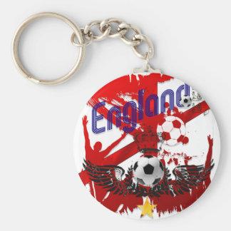 Fútbol del mundo - regalo de la bola del fútbol de llavero redondo tipo pin