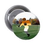 Fútbol del orgullo pin