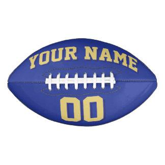 Fútbol del personalizado del ORO VIEJO Y de la Balón De Fútbol Americano
