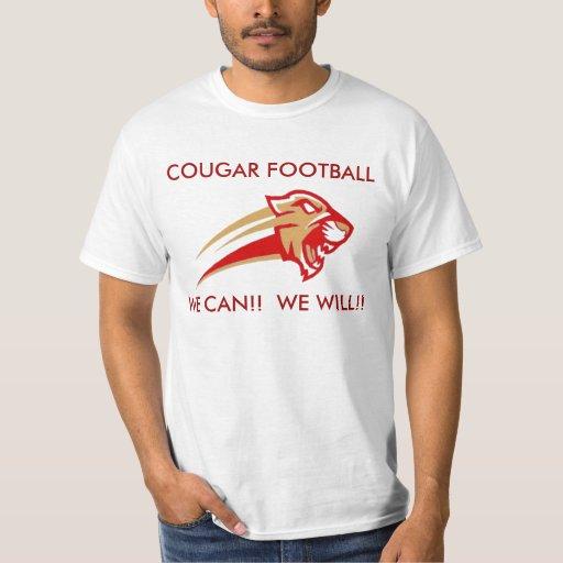 Fútbol del puma del condado de Pulaski Playera