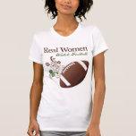 Fútbol del reloj de las mujeres reales camiseta