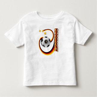 Fútbol del remolino de Alemania 3 estrellas Camisas