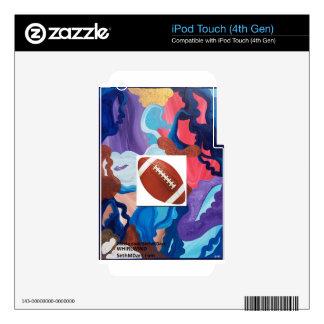 Fútbol del torbellino iPod touch 4G skins