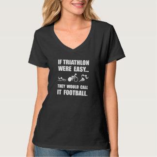 Fútbol del Triathlon Playeras