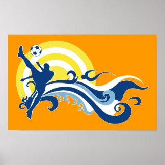 fútbol del verano poster