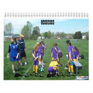 Fútbol del viaje de Lakewood Calendario De Pared