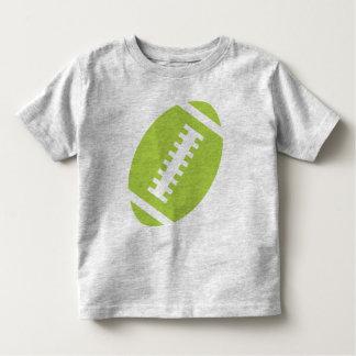 Fútbol delantero de la cal del gris el | del NIÑO Playera De Bebé