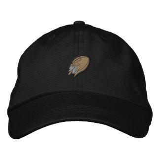 Fútbol destrozado gorra de beisbol bordada