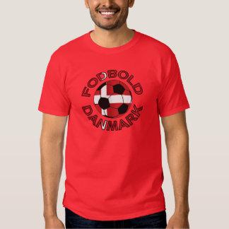Fútbol Dinamarca de Fodbold Danmark Playera