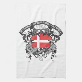 Fútbol Dinamarca Toallas De Mano