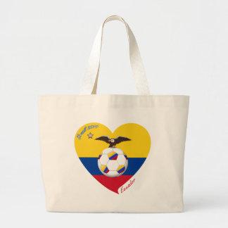 Fútbol ECUADOR Ecuadorian National Soccer Team Bolsas