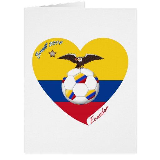 """Fútbol """"ECUADOR"""". Ecuadorian National Soccer Team Felicitaciones"""