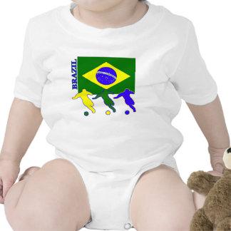 Fútbol el Brasil Camiseta