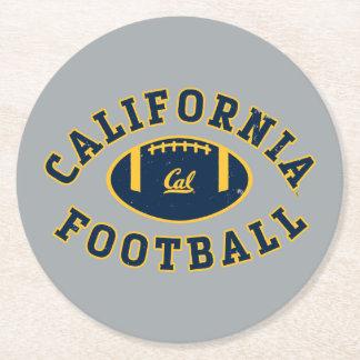 Fútbol el | caloría Berkeley 5 de California Posavasos Personalizable Redondo