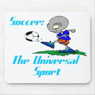 Fútbol: El deporte universal Mousepad Tapete De Ratón