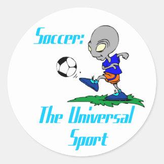 Fútbol: El pegatina universal del deporte