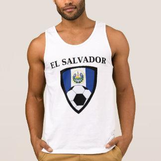 Fútbol eléctrico de Salvador Playeras De Tirantes