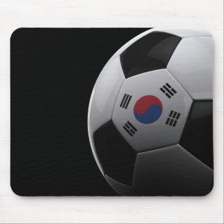 Fútbol en Corea del Sur Alfombrilla De Ratón