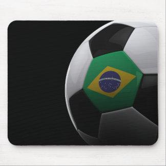 Fútbol en el Brasil Tapetes De Ratón