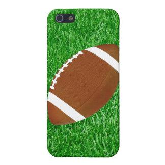 Fútbol en el césped iPhone 5 carcasas