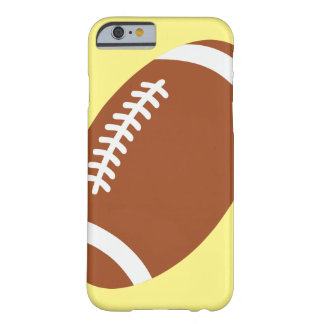Fútbol en el iPhone amarillo 6/6s, Barely There Funda Para iPhone 6 Barely There