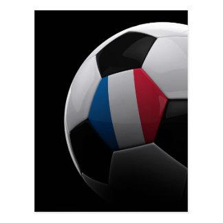 Fútbol en Francia - POSTAL