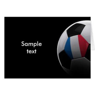 Fútbol en Francia - TARJETA de INVITIATION