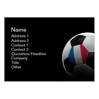 Fútbol en Francia - TARJETA de VISITA