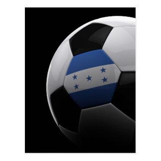 Fútbol en Honduras Tarjeta Postal