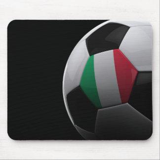 Fútbol en Italia Mouse Pads