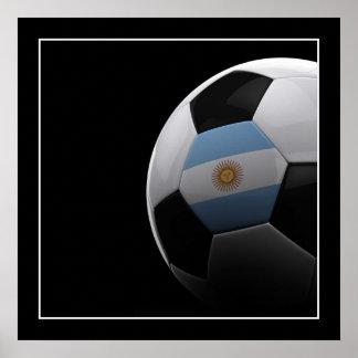 Fútbol en la Argentina - POSTER