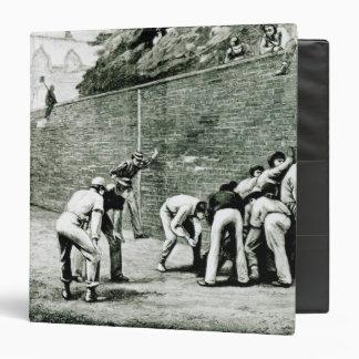 """Fútbol en la pared en Eton Carpeta 1 1/2"""""""