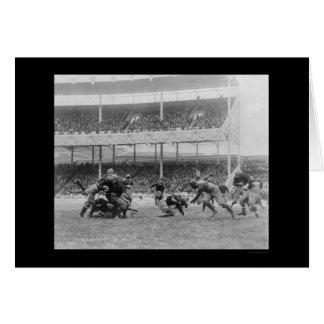 Fútbol en los argumentos del polo, NY 1916 de la Tarjeta De Felicitación